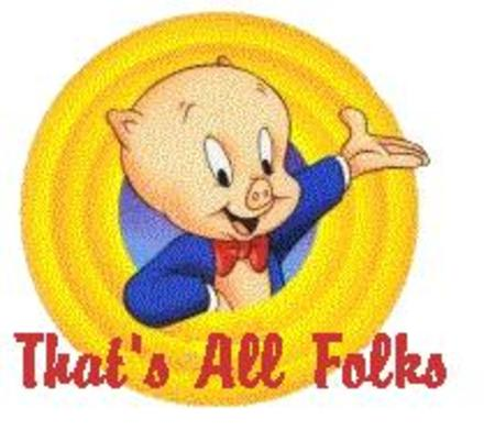 Porky Pig Cute Cartoon